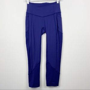 Lululemon All the Right Places II Emperor Blue Luxtreme 6 Run Gym Workout
